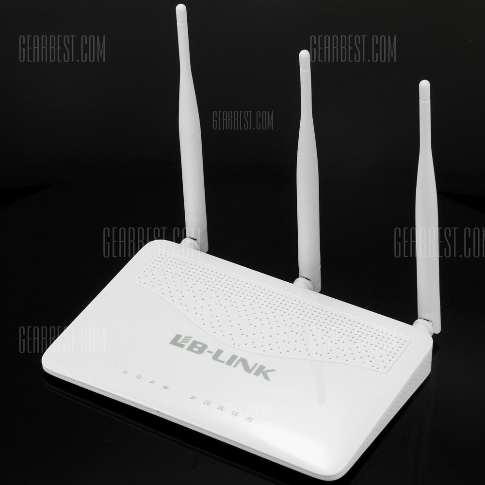offertehitech-BL  -  WR3000 2.4G 300Mpbs Wireless Router with 4 LAN Ports  -  100  -  240V
