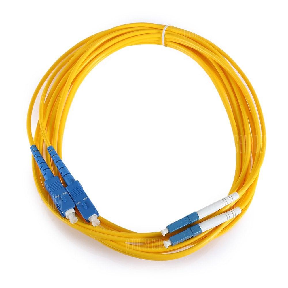 offertehitech-Jumper Cable LC - SC Optical Patch Cord Duplex 3.0mm