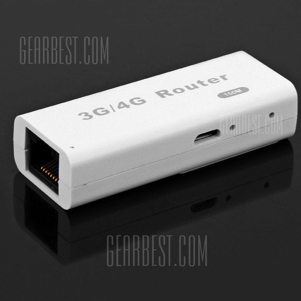 offertehitech-M1 Two - in - one Portable Mini 3G Wifi Router/Hotspot/AP/Gateway Speed Up to 150Mbps