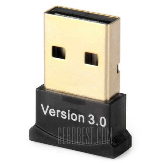 offertehitech-Ultra Mini Wireless Bluetooth CSR 3.0 USB Dongle Adapter for Laptop Mobile Phone PDA Headset