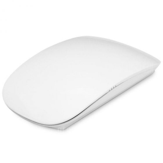 italiaunix-2.4GHz Ultrathin Intermediate Pulley Touch Wireless Optical Mouse