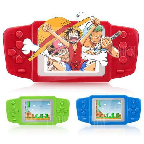 italiaunix-2.5 inch Kids Handheld Game Console with 268 Classic Games