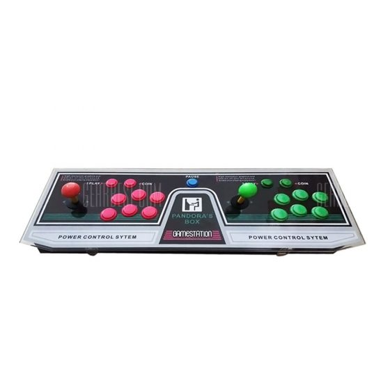 italiaunix-875 Video Games Arcade Console Machine Double Joystick Pandora's Box 5s VGA HDMI 3