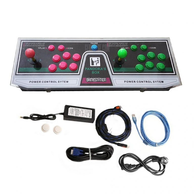 italiaunix-999 Video Games Arcade Console Machine Double Joystick Pandora's Box 5s VGA HDMI