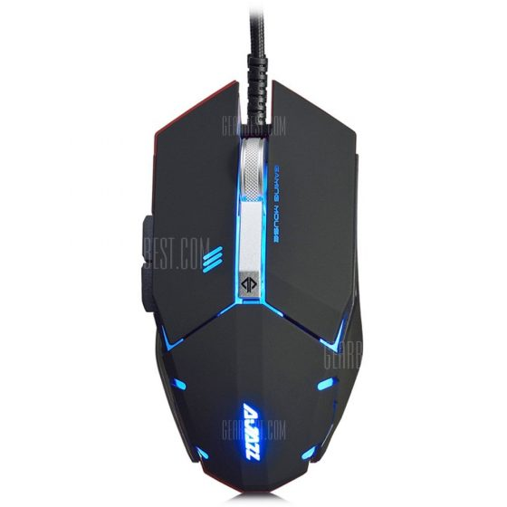 italiaunix-AJAZZ GTC Wired Gaming Mouse with LED Light 4000 DPI