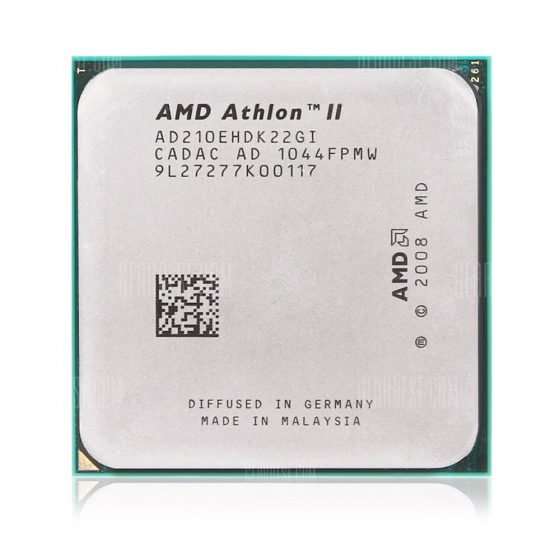 italiaunix-AMD Athlon II 210E Dual-core AM3+ 2.6GHz CPU