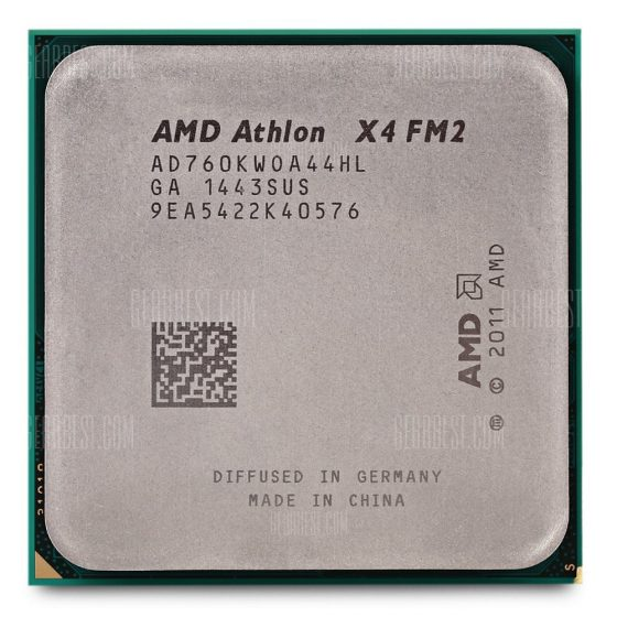 italiaunix-AMD Athlon X4 FM2 X4-760 Quad Core CPU