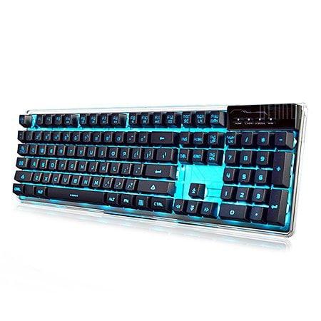 italiaunix-Ajazz AK6 Membrane Keyboard with Anti-ghosting Keys