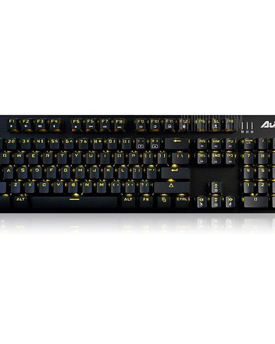 italiaunix-Ajazz NKRO Mechanical Keyboard with Breathing Light for LOL