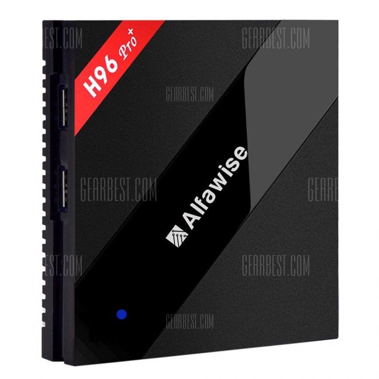 italiaunix-Alfawise H96 Pro+ TV Box  Gearbest