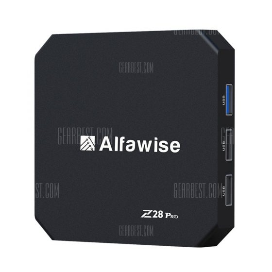 italiaunix-Alfawise Z28 Pro Smart TV Box  Gearbest