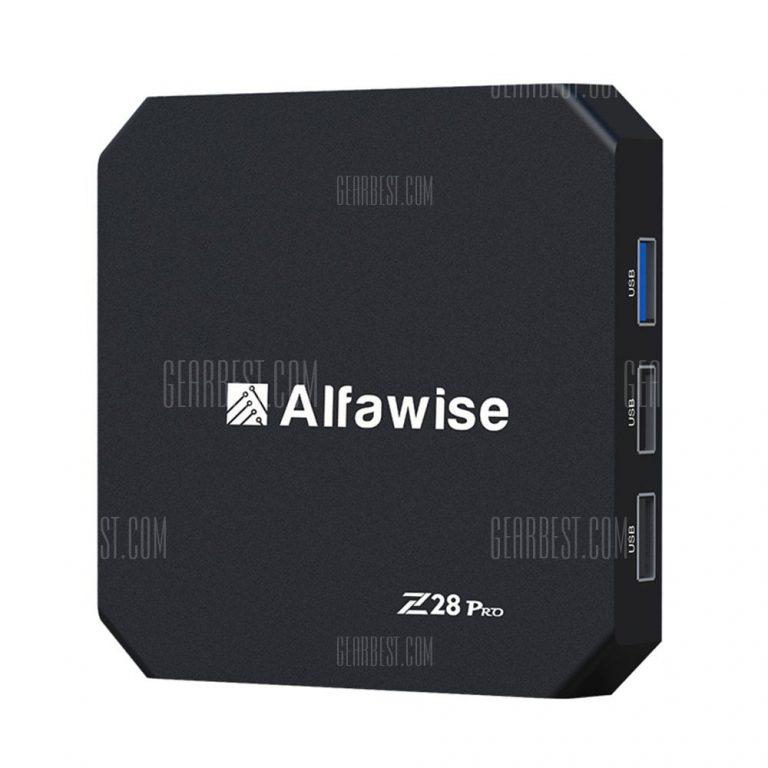 italiaunix-Alfawise Z28 Pro Smart TV Box  Gearbest