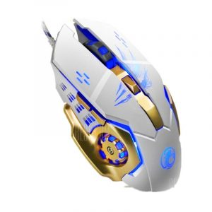 italiaunix-Apedra A8 Wired Gaming Mouse Macro Definition Programming Four-Color Breathing Light Electrical Weight