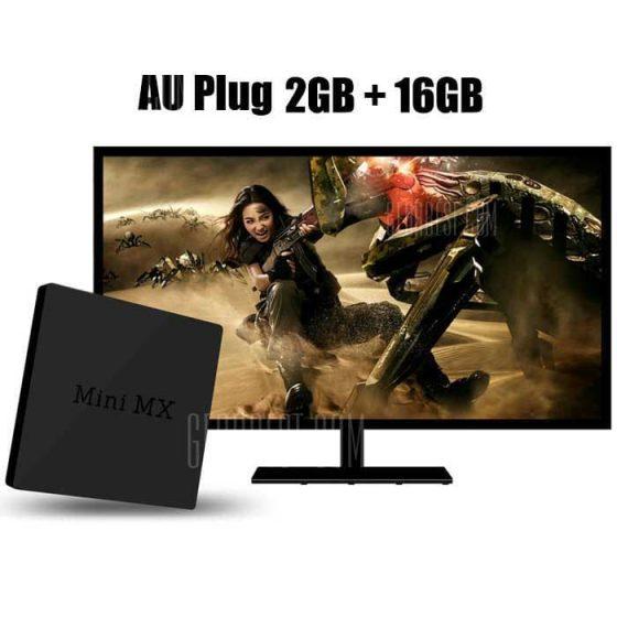 italiaunix-Beelink Mini MX Ver 1.0 TV Box Android 5.1 Amlogic S905 Quad-core