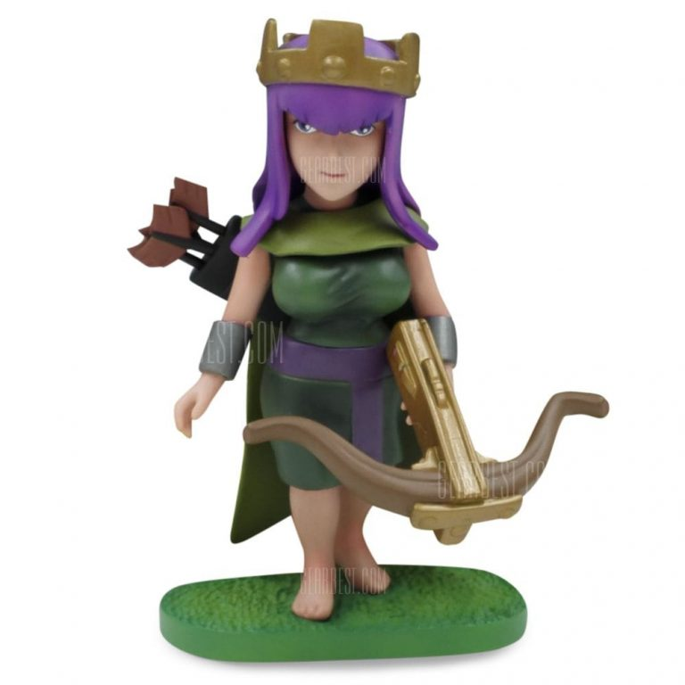 italiaunix-COC Queen Figure Model Collection Table Decor  Gearbest