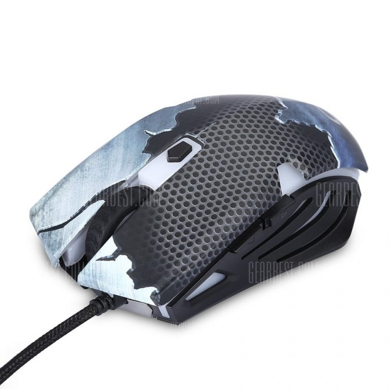 italiaunix-CONSON CM635 Wired Gaming Mouse Game Peripherals