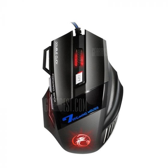 italiaunix-Colorful Breathing Lights Actually Wired Gaming Mouse X7 Computer Peripheral Glare