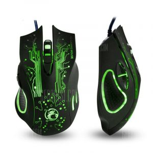 italiaunix-Colorful Breathing Lights Actually Wired Gaming Mouse X9 Computer Peripheral Glare