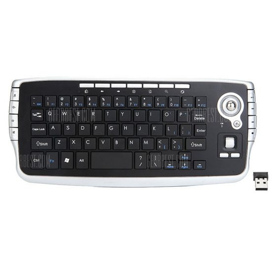 italiaunix-FN - 717 2.4G Mini Wireless Keyboard Mouse
