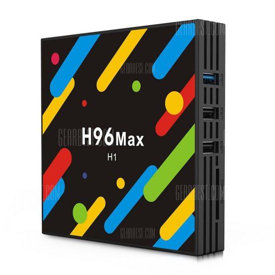 italiaunix-H96 MAX - H1 TV Box