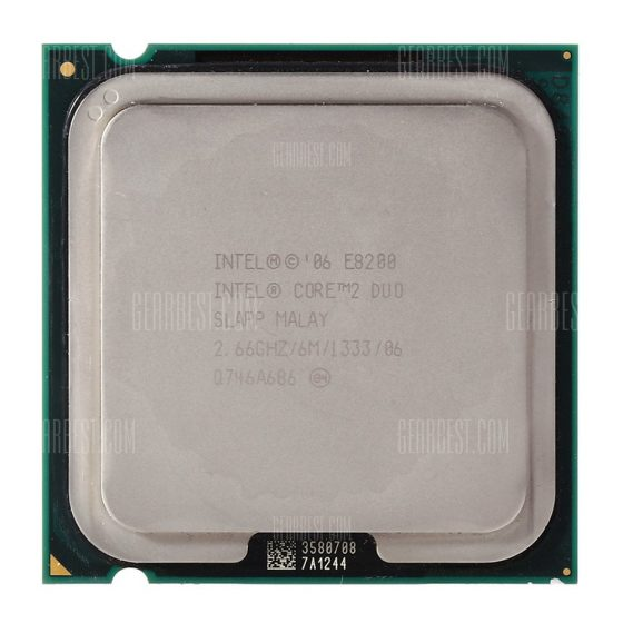 italiaunix-Intel E8200 Dual-core CPU