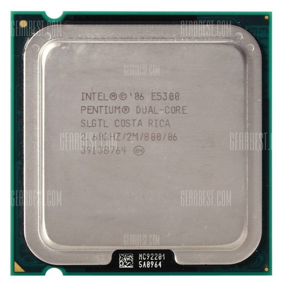italiaunix-Intel Pentium E5300 2.6GHz Dual-core CPU