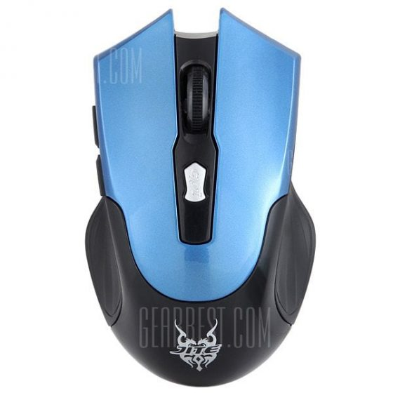 italiaunix-JITE 3239 Fashionable 6 Keys 2.4GHz Wireless Optical Mouse for PC Laptop