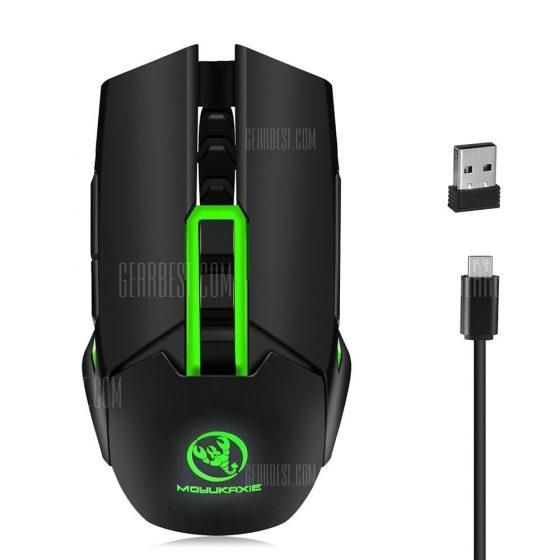 italiaunix-MOYUKAXIE X80 Wireless Optical Professional Gaming Mouse
