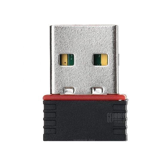 italiaunix-Mini USB 2.0 Wi-Fi 150Mbps Network Card