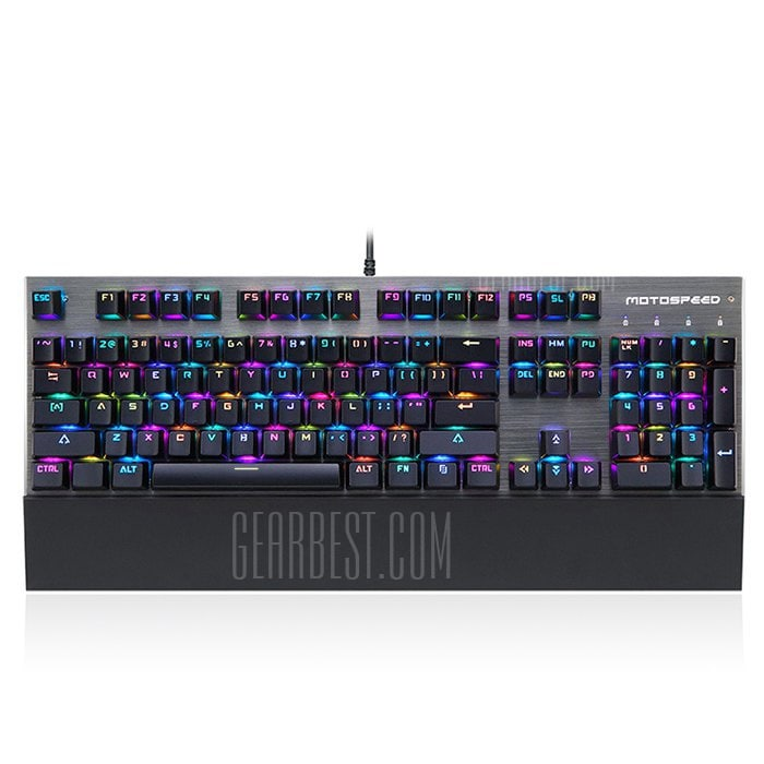italiaunix-Motospeed CK108 USB Wired Game Keyboard  Gearbest
