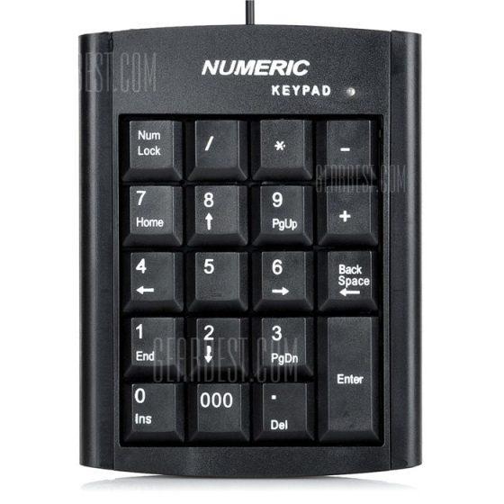 italiaunix-Numeric Keypad 19 Keys