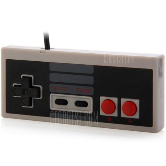 italiaunix-Retro Style Wired Gamepad