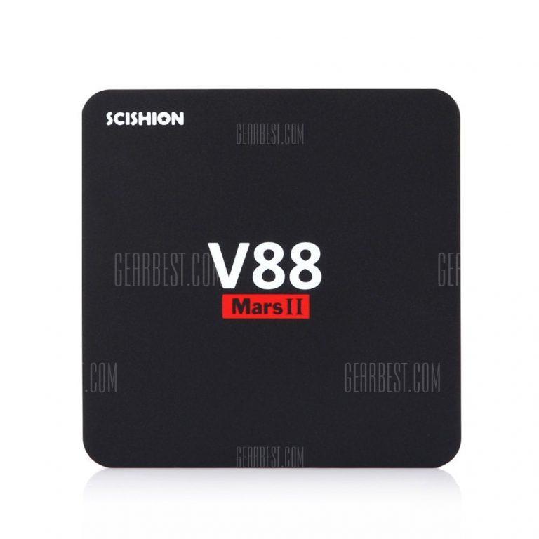 italiaunix-SCISHION V88 Mars II Smart TV Box  Gearbest
