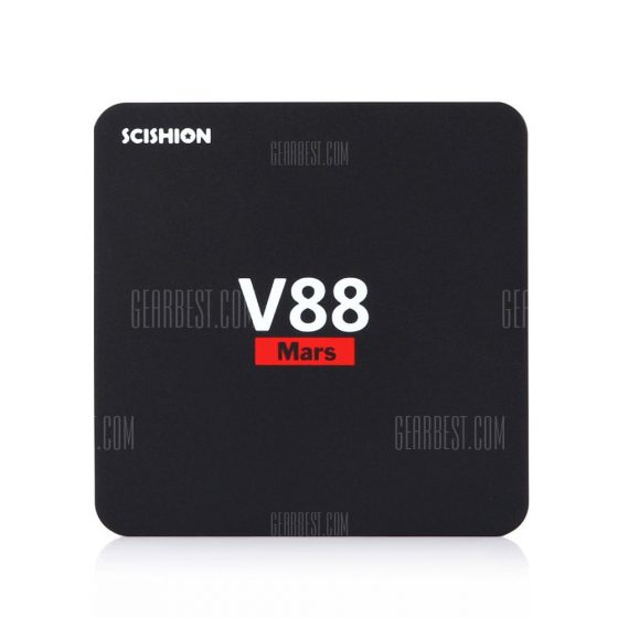 italiaunix-SCISHION V88 Mars Android TV Box Quad-core CPU