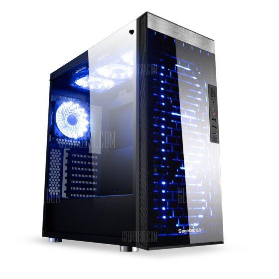 italiaunix-Segotep RGB Full Tower USB 3.0 Computer Case PC Mainframe