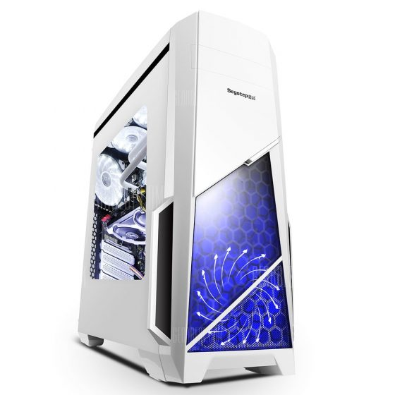 italiaunix-Segotep Spring Mid Tower Gaming Computer Case Support ATX M-ATX ITX Motherboard
