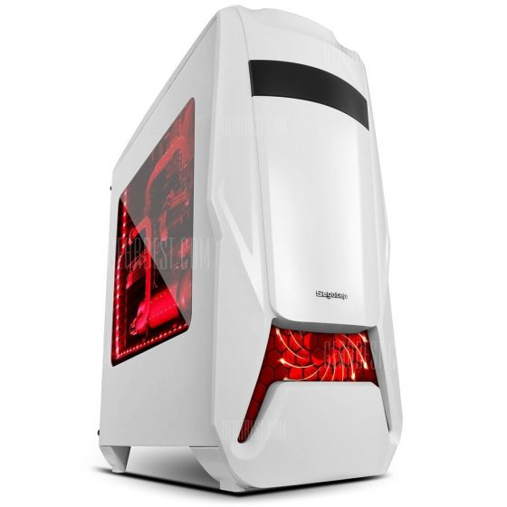 italiaunix-Segotep Warship EVA Mid Tower Gaming Computer Case Support ATX M-ATX ITX Motherboard