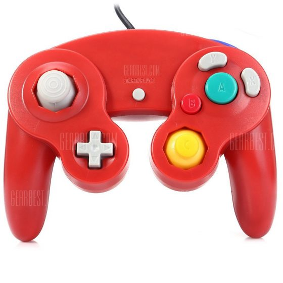 italiaunix-Solid Color Controller Game System for NGC Joypad