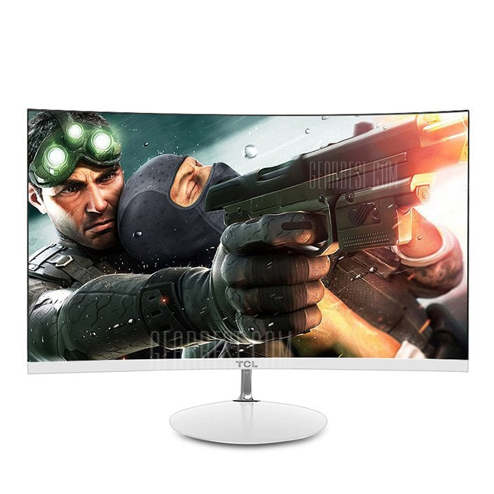 italiaunix-TCL T24M6C 23.6 inch Screen 1800R Curved Monitor  Gearbest