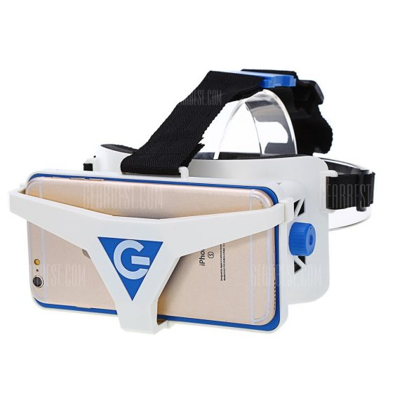 italiaunix-Virtual Reality 3D VR Glasses for 4.5 - 6 inch Smartphone