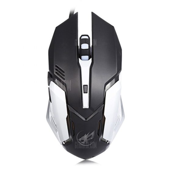italiaunix-Warwolf T1 Optical Wired Macro Definition Gaming Mouse  Gearbest