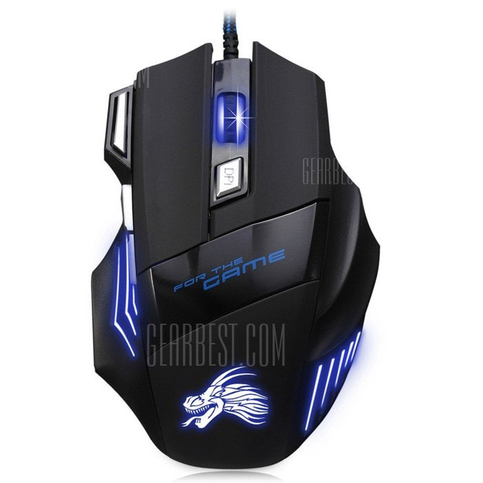 italiaunix-X3 USB Wired Optical Gaming Mouse  Gearbest