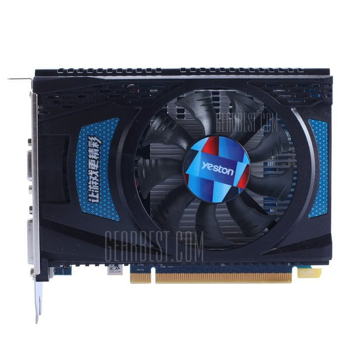italiaunix-Yeston AMD Radeon R7 240 4GB GDDR5 Graphics Card