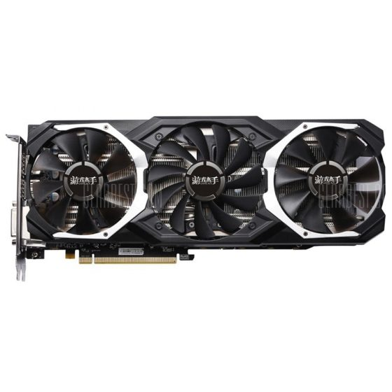 italiaunix-Yeston RX580 GPU 4G 256bit DDR5 Graphics Card