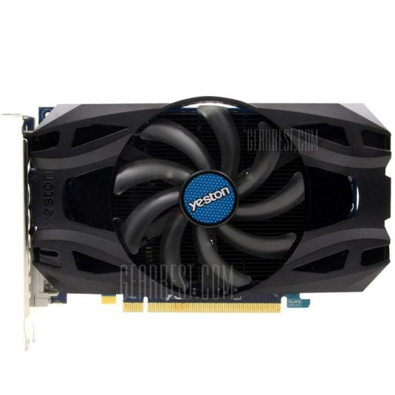 italiaunix-Yeston Radeon R7 350 4GB GDDR5 Graphics Card
