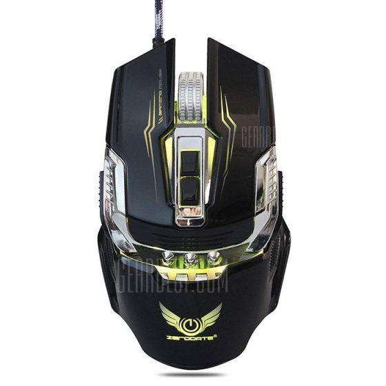 italiaunix-ZERODATE X900 Wired Gaming Mouse Breathing LED Setting