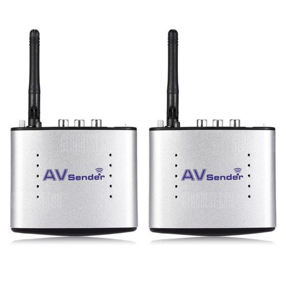 offertehitech-Portable 2.4GHz Wireless AV Transmitter + Receiver 150m