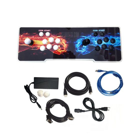 italiaunix-999 Video Games Arcade Console Machine Double Joystick Pandora's Key 5s 5