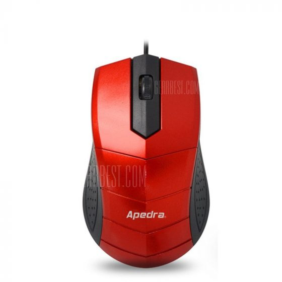 italiaunix-APEDRA M2 Business Office Wired USB Mouse Notebook Desktop Gift Mouse