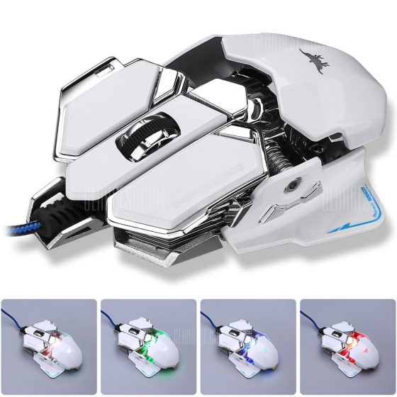 italiaunix-Combaterwing CW-80 USB Wired Optical Gaming Mouse